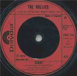 The Hollies - Sandy (4th Of July, Asbury Park)