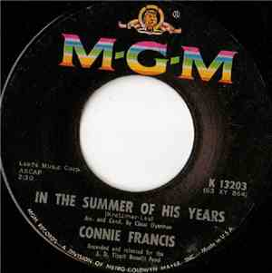 Connie Francis - In The Summer Of His Years  My Buddy