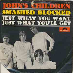 Johns Children - Smashed Blocked