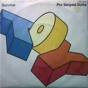 Toy  - Survive  Pin Striped Suits
