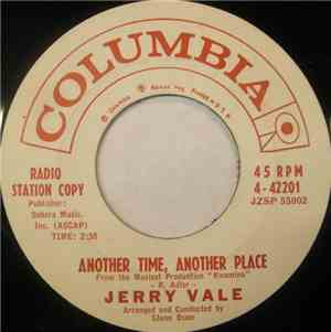 Jerry Vale - Another Time, Another Place  If He Leaves You