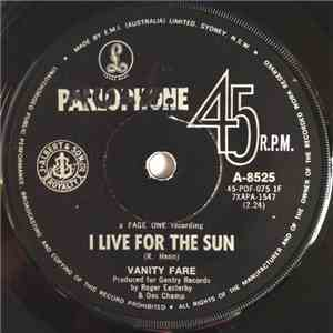 Vanity Fare - I Live For The Sun  On The Other Side Of Life
