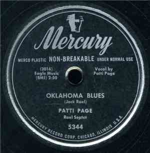 Patti Page  Patti Page Quartet - Oklahoma Blues  With My Eyes Wide Open Im  ...