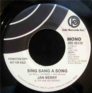 Jan Berry - Sing Sang A Song