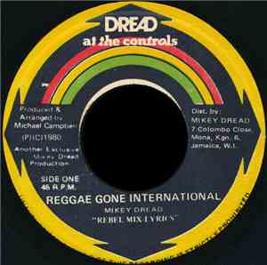 Mikey Dread - Reggae Gone International
