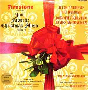 Irwin Kostal And The Firestone Orchestra Starring Julie Andrews • Vic Damon ...