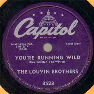 The Louvin Brothers - Youre Running Wild  Cash On The Barrel Head