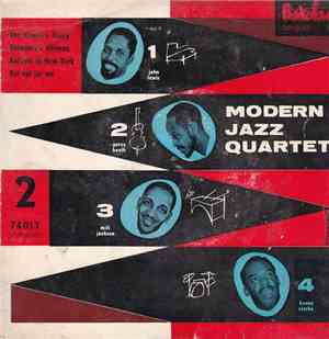 Milt Jackson Modern Jazz Quartet - The Queens Fancy