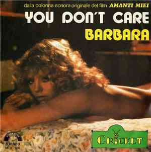 Cricket  - You Dont Care  Barbara