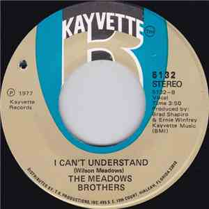 The Meadows Brothers - I Cant Understand