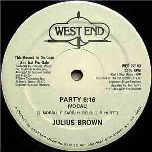 Julius Brown - Party