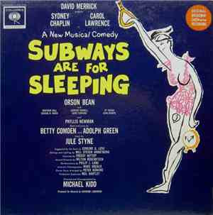 Various - Subways Are For Sleeping (Original Broadway Cast Recording)