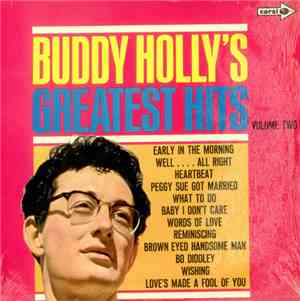 Buddy Holly - Buddy Hollys Greatest Hits Volume Two