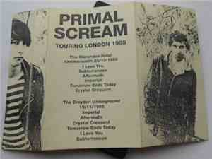Primal Scream - Touring London 1985
